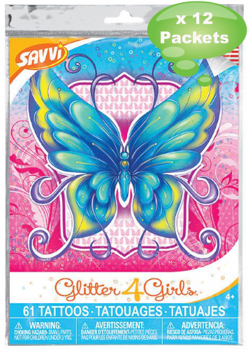 Tattoo Savvi Value Pack ~ Glitter4Girls